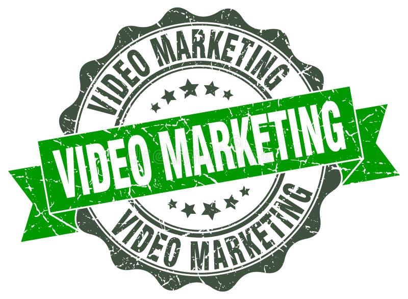 selo video do mercado selo ilustração royalty free