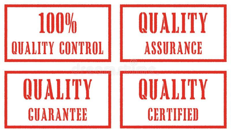 Selos da qualidade ilustração stock