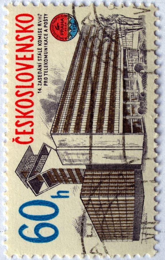 Selos de Checo imagem de stock royalty free