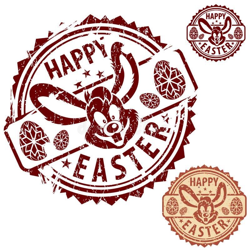 Selos de Easter ilustração stock