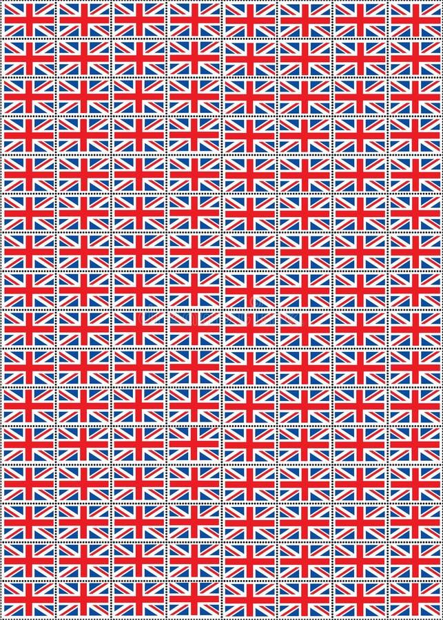 Selos de Jack de união ilustração stock