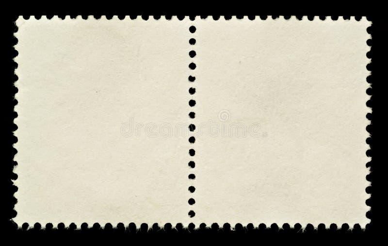 Selos de porte postal em branco fotografia de stock royalty free