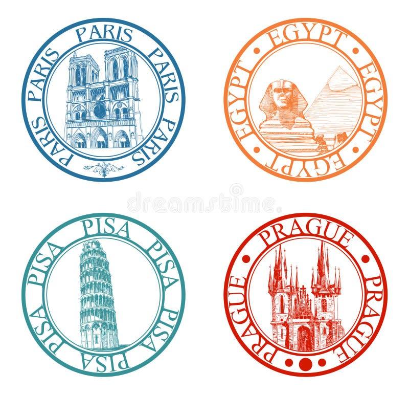 Selos do curso ajustados