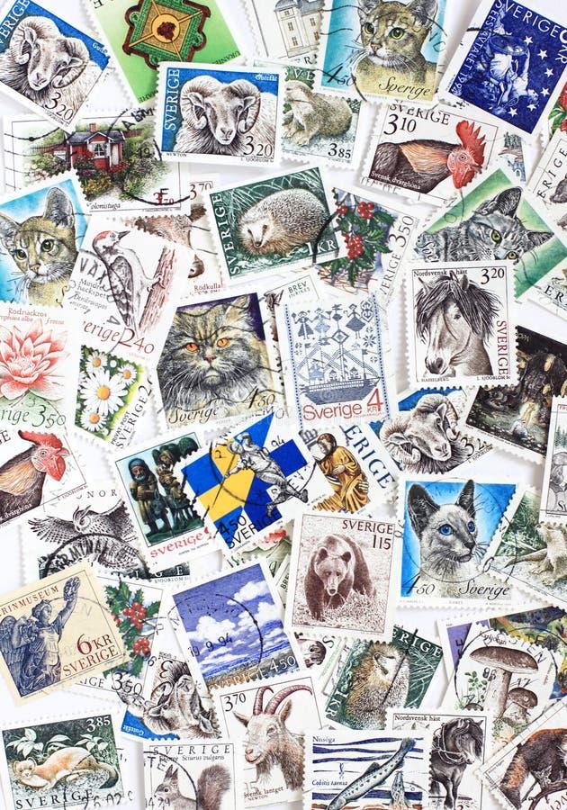Selos do sueco imagens de stock