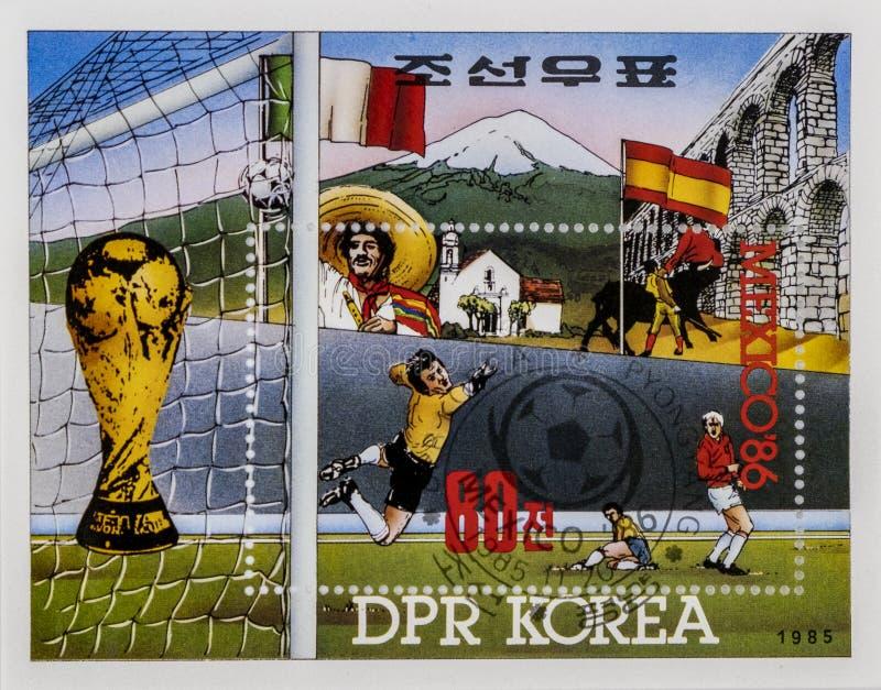 Selos postais espetaculares imagem de stock royalty free