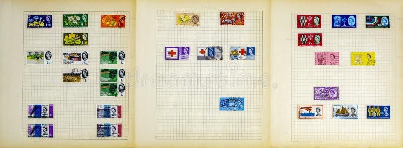 Selos postais magníficos foto de stock royalty free