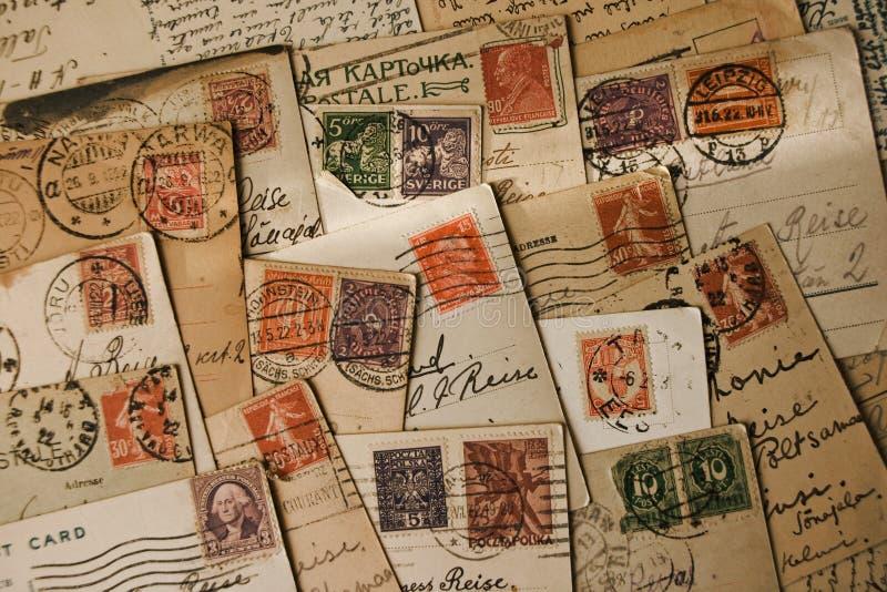 Selos velhos foto de stock royalty free