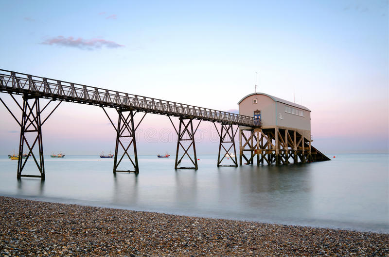 Selsey Bill lifeboat station royalty free stock image