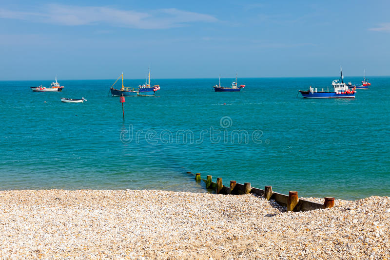 Selsey Bill West Sussex England stock foto's