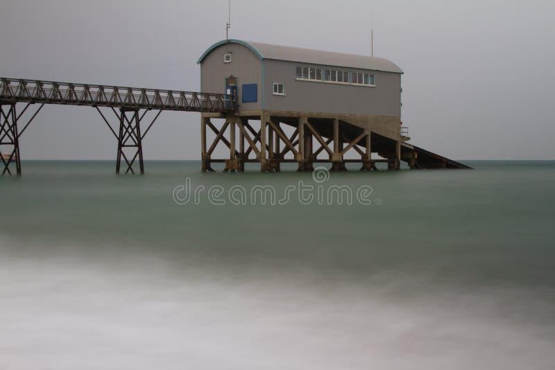 Selsey Rettungsboot-Station lizenzfreies stockbild