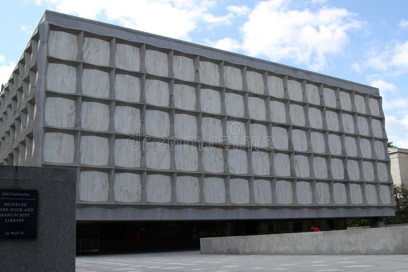 Seltenes Buch-und Manuskript-Bibliothek Beinecke, Yale University Library, New-Haven, Connecticut lizenzfreie stockfotos