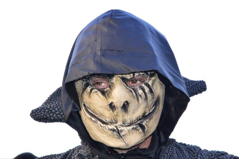 Seltsame traditionelle Maske stockbild