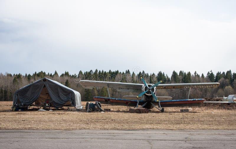 Seltso Airfield royalty free stock photo