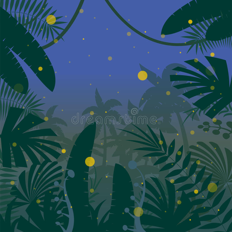 Selva Background17 liso ilustração royalty free