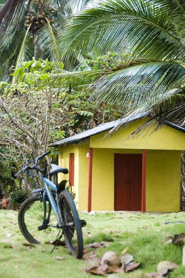 Selva Rental Nicarágua do quarto da cabana fotografia de stock