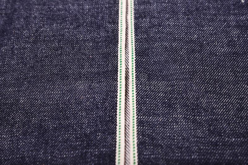 selvedge drelichu backgroud obraz stock