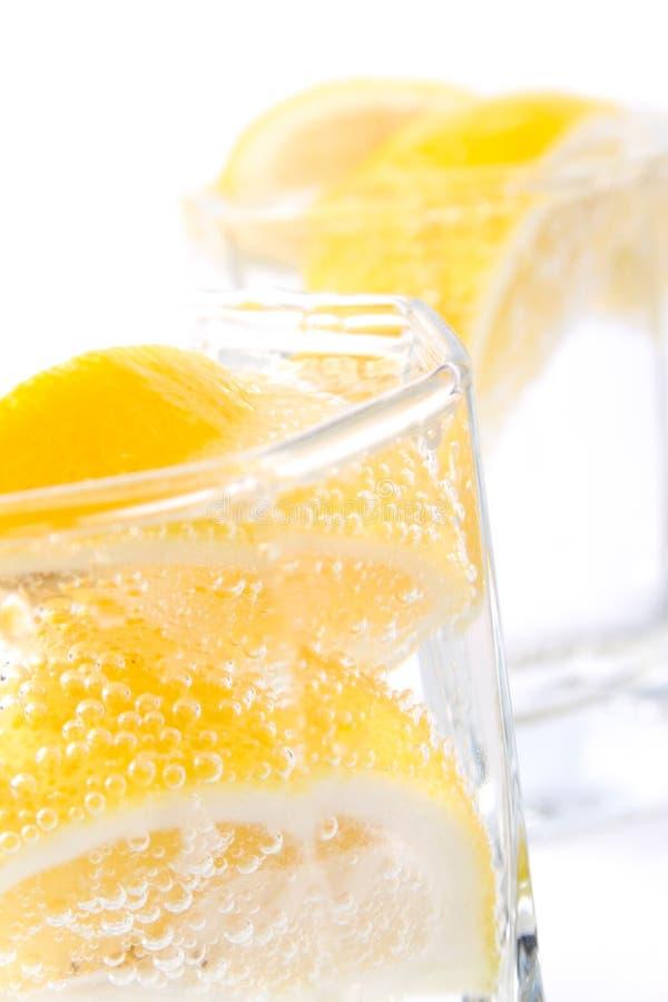 Selz e limone fotografie stock