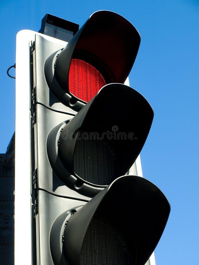 Semáforo rojo imagen de archivo libre de regalías