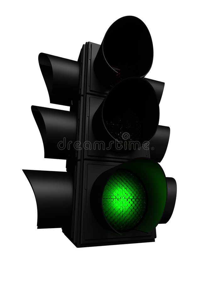 Semáforo verde libre illustration