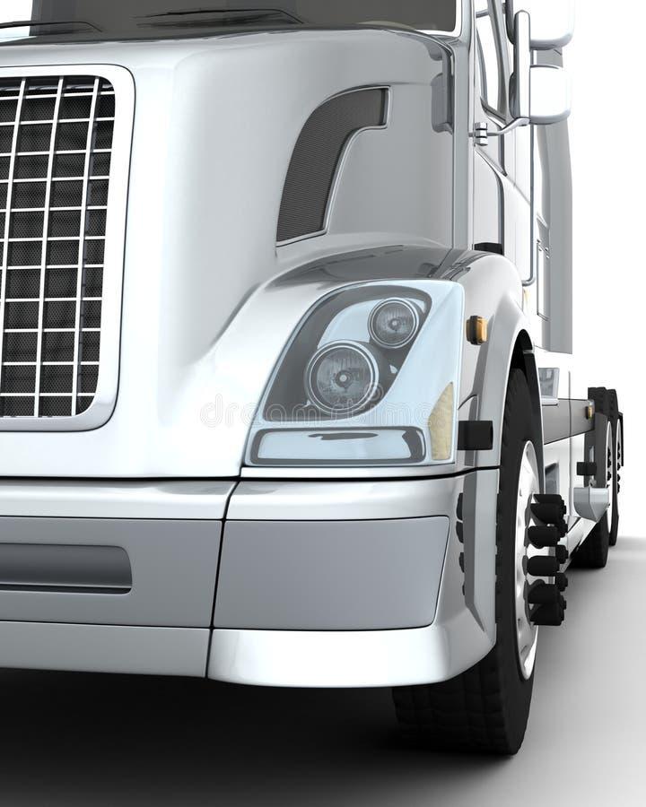 Sem americanos - caminhão ilustração stock