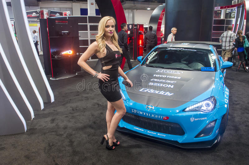 Sema car show 2013 editorial image image of america for Pool show las vegas november