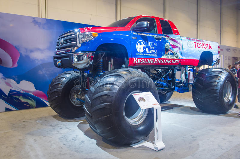 SEMA car show 2014 stock images