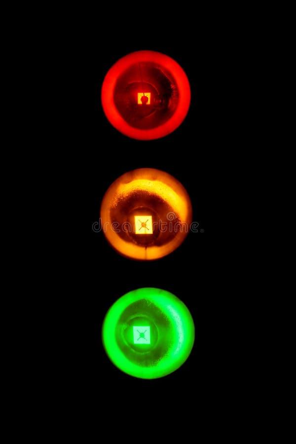 Semafori fotografia stock libera da diritti