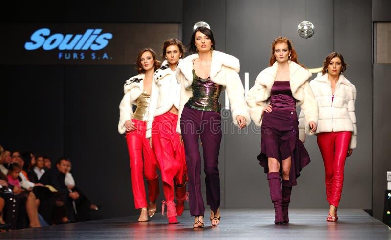 Semaine ukrainienne de mode image stock