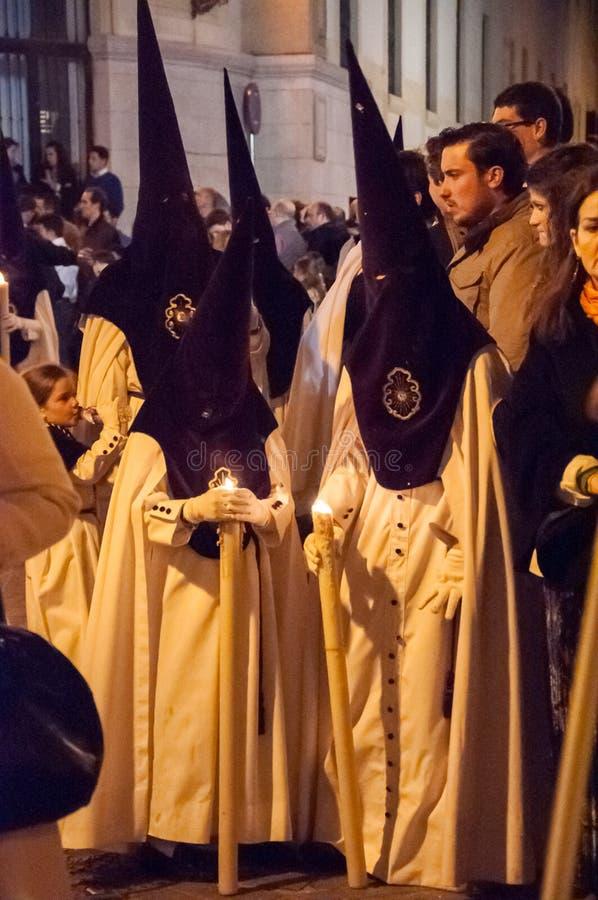 Semana圣诞老人在塞维利亚 库存图片