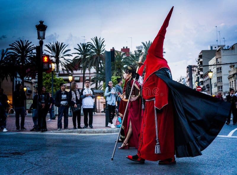 Semana Санта, Валенсия стоковое фото