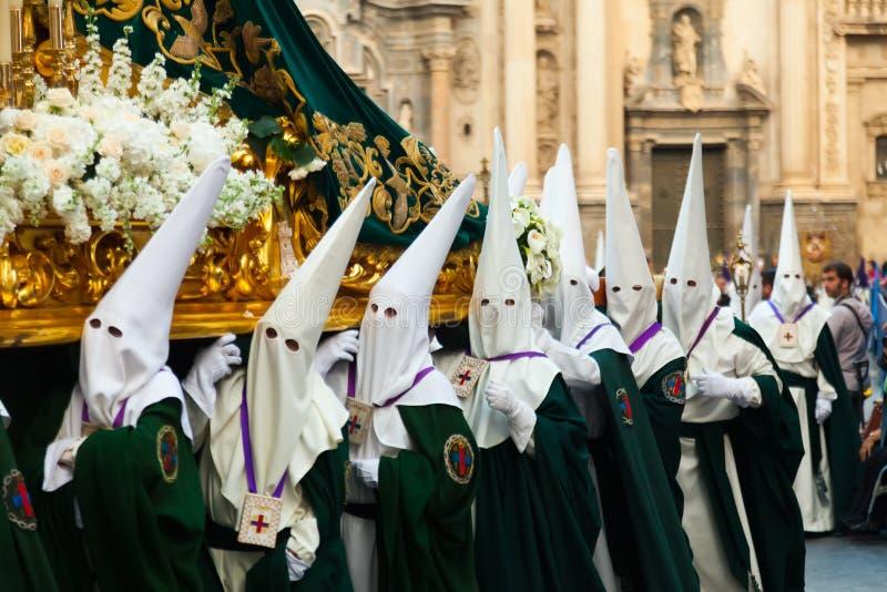 Semana Санта в Мурсии. стоковое фото