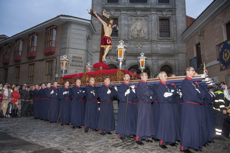 Semana Papá Noel, Madrid fotos de archivo