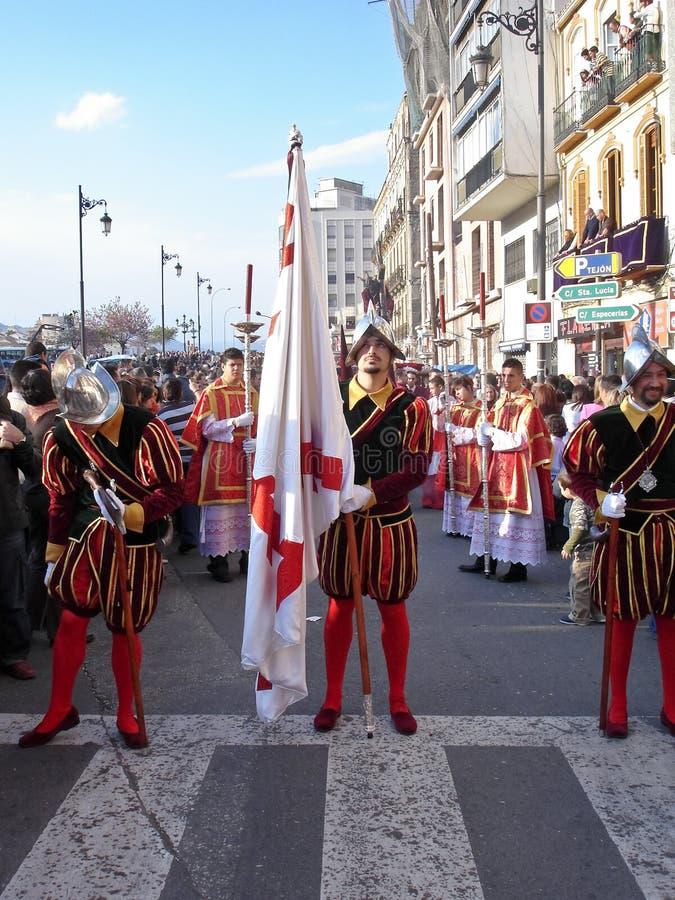 Semana Sankt (Osterwoche) Prozession lizenzfreies stockfoto