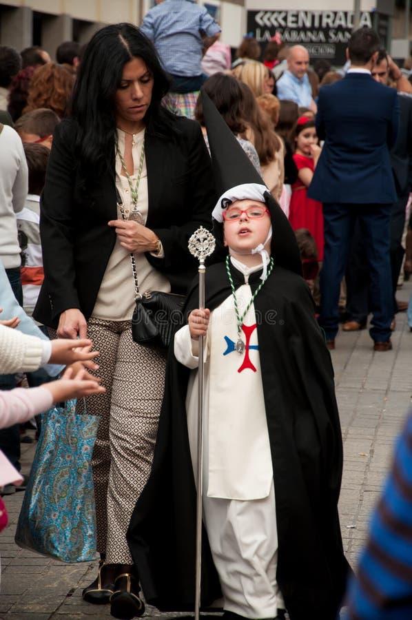 Semana Santa à Séville image stock
