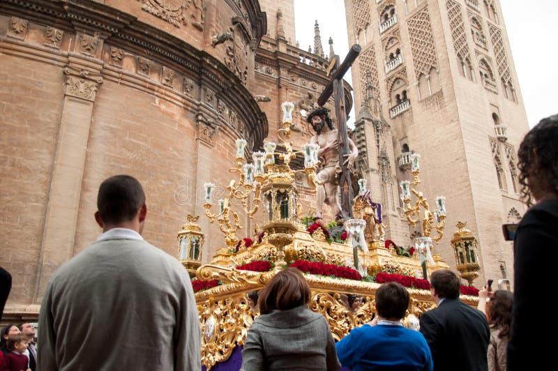 Semana Santa à Séville images stock