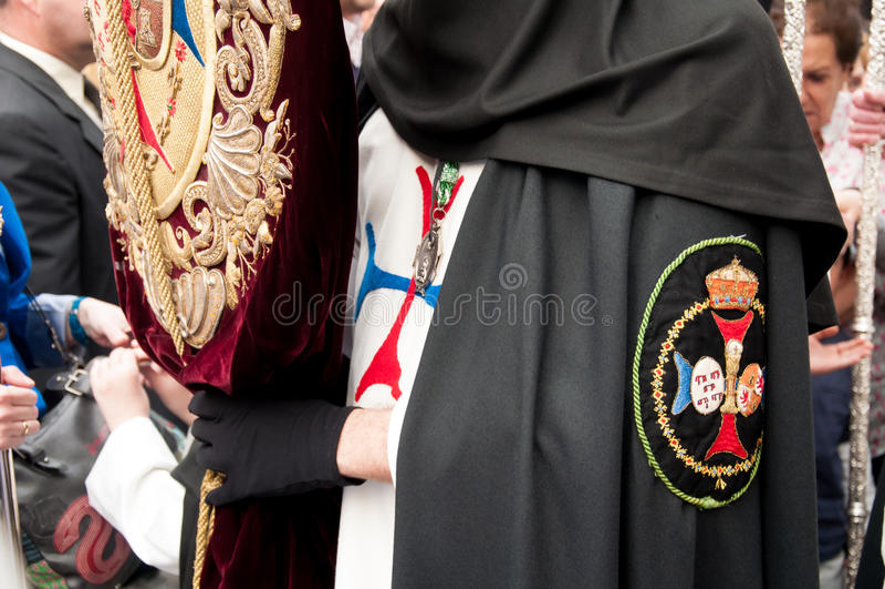 Semana Santa à Séville photos stock