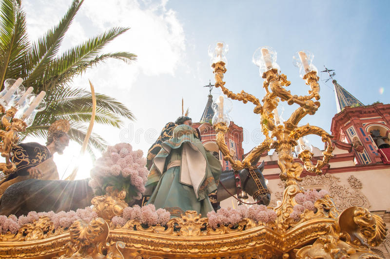 Semana Santa στη Σεβίλλη στοκ φωτογραφία με δικαίωμα ελεύθερης χρήσης