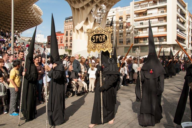 Semana Santa στη Σεβίλλη στοκ εικόνα με δικαίωμα ελεύθερης χρήσης