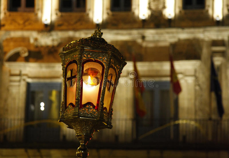 Semana Santa de Cuenca lizenzfreie stockfotografie