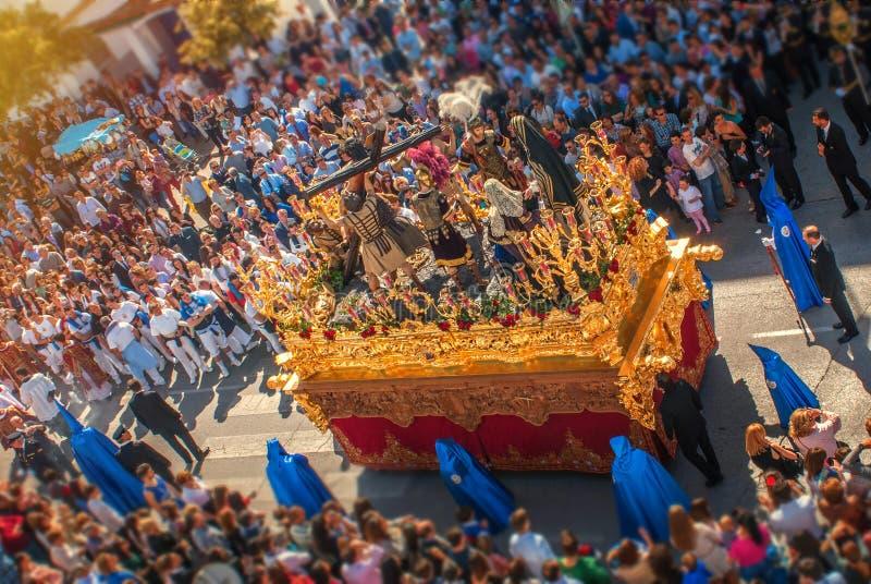 Semana santa en España, la procesión fotos de archivo
