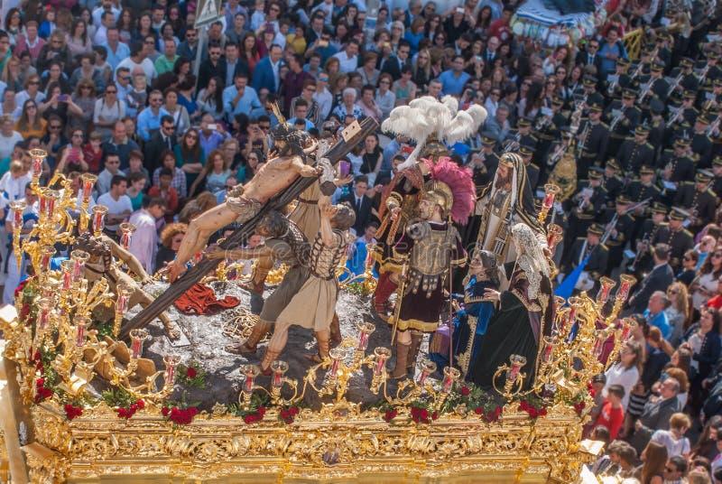 Semana santa en España, la procesión imagenes de archivo