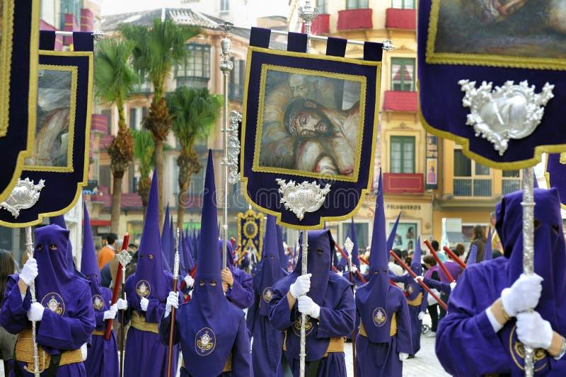 Semana Santa en Espagne images stock