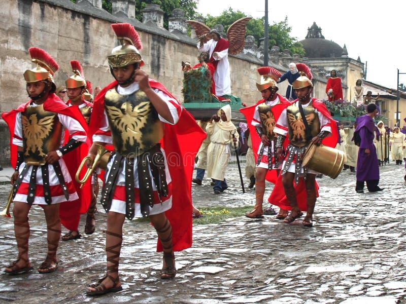 Semana Santa en Guatemala imagen de archivo