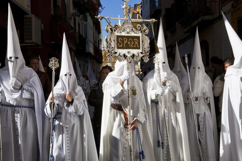 Semana Santa Fiesta lizenzfreie stockbilder