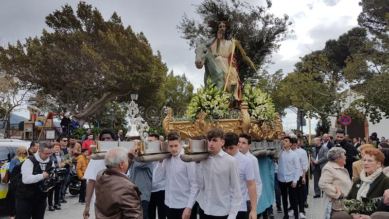 Semana Santa 2018 royalty free stock photos