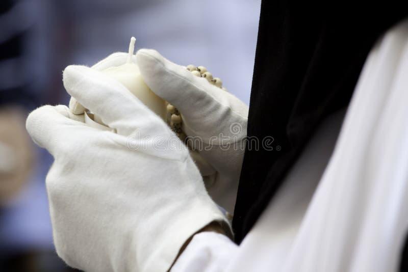 Semana Santa (semana santamente) na Andaluzia, Spain. imagem de stock royalty free