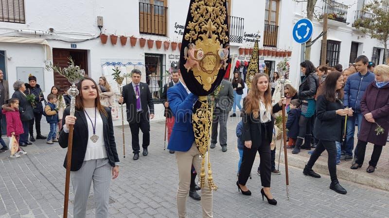 Semana Santa Spain 2018 imagem de stock