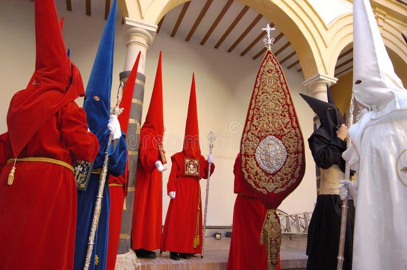 Semana Santa in Spain royalty free stock photos