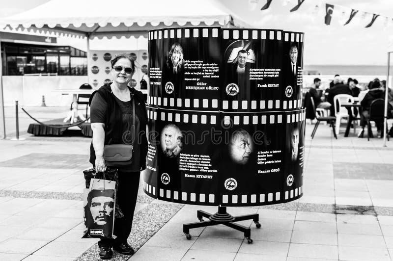 Semana turca da apreciação da literatura - cidade Turquia de Yalova foto de stock