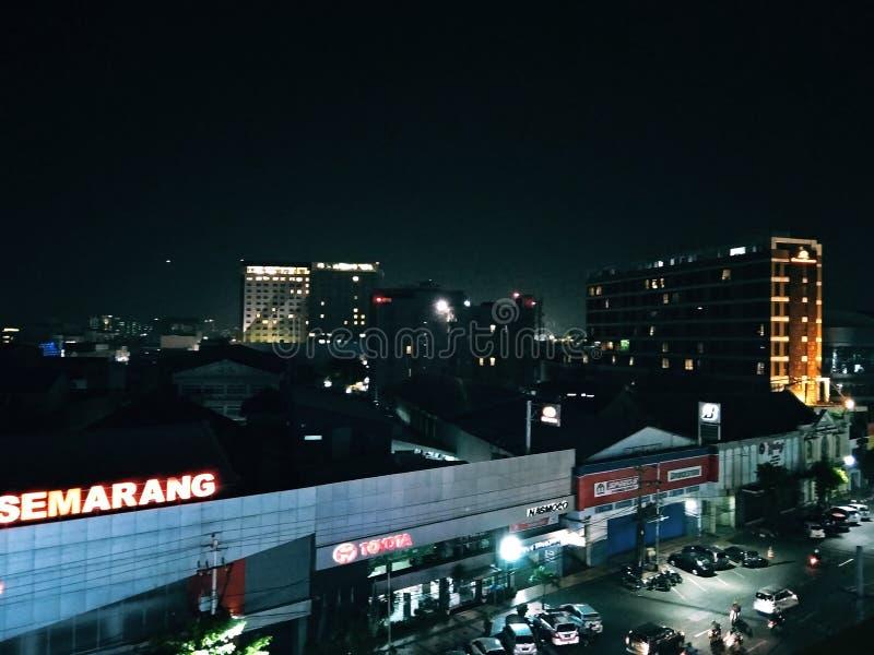 Semarang-Stadt lizenzfreie stockfotos